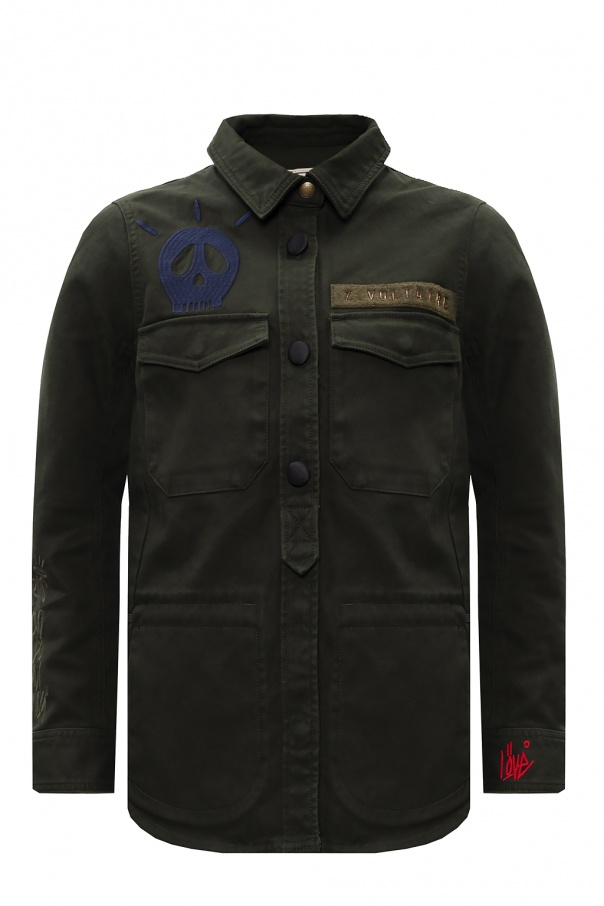 Zadig & Voltaire Branded military jacket