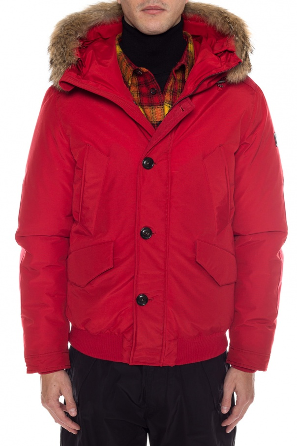 Down jacket with logo od Woolrich