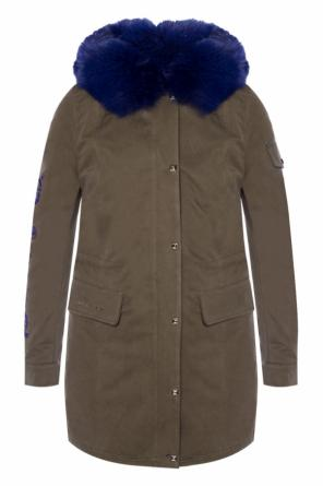 'on the avenue' parka with fur lining od Philipp Plein
