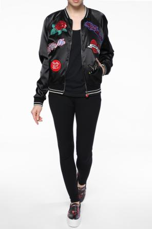 Patched bomber jacket od Philipp Plein