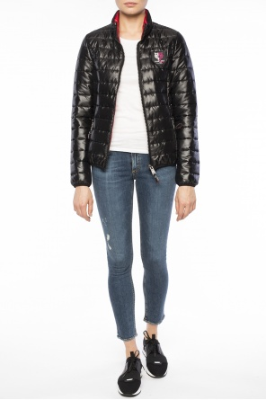 Band collar quilted jacket od Plein Sport