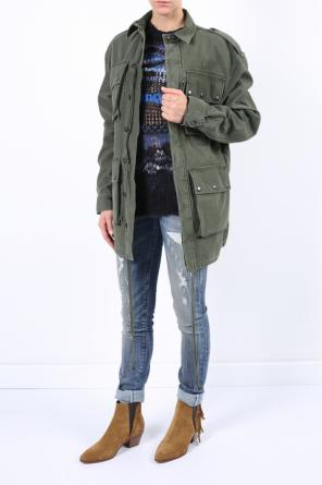 Parka with epaulettes od Faith Connexion