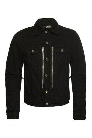 Denim jacket with logo od Amiri