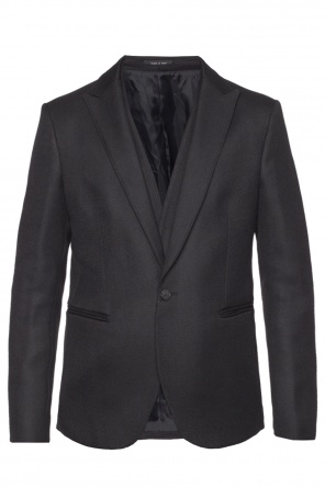 Single-vented blazer od Emporio Armani