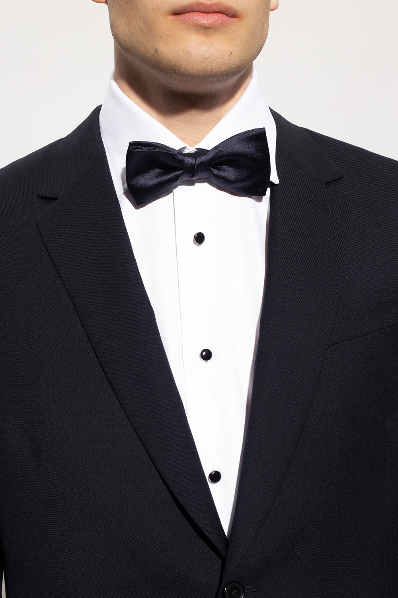 Lanvin Silk bow tie