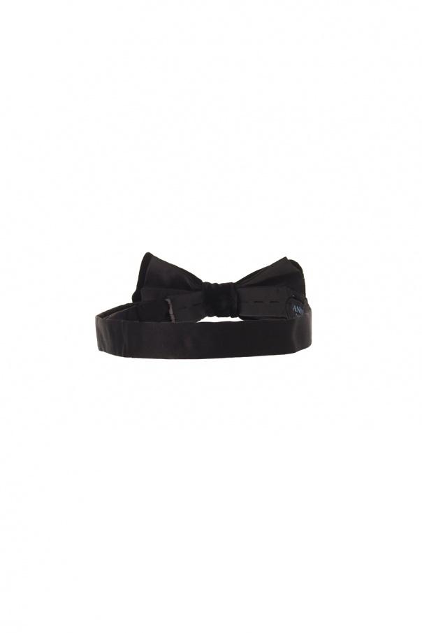 Velvet bow-tie od Lanvin