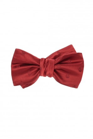 Embroidered bow tie od Alexander McQueen