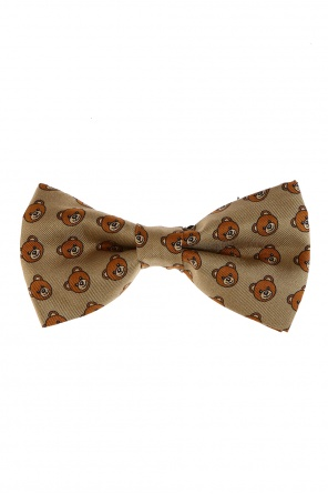 Teddy bear head bow tie od Moschino