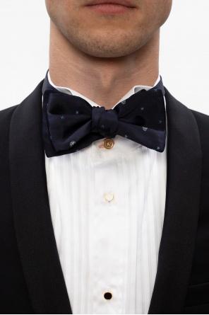 Silk bow tie od Alexander McQueen