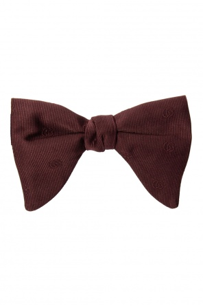 Bow tie with logo od Gucci
