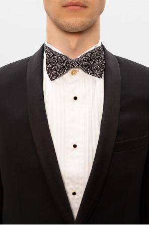 Printed silk bow tie od Dolce & Gabbana