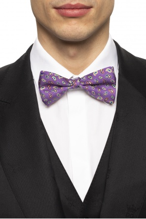 Patterned bow tie od Etro
