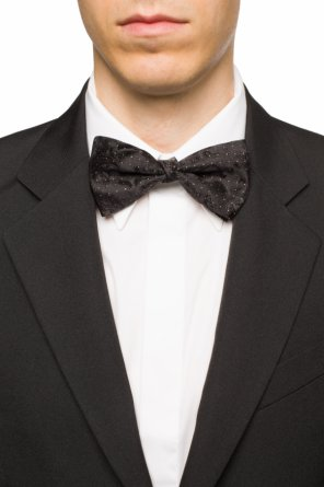 Embroidered bow tie od Etro