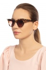 Philipp Plein Leopard print sunglasses