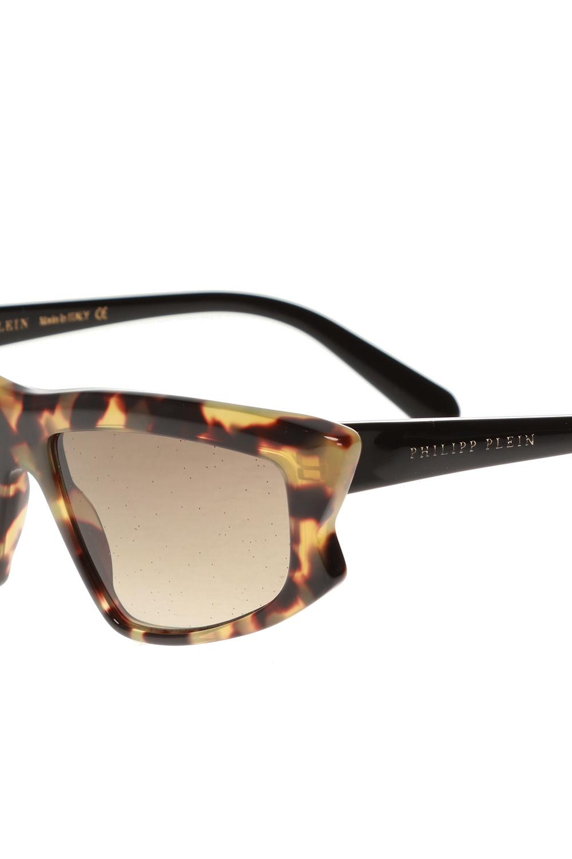 Philipp Plein Okulary przeciwsłoneczne z logo