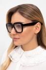 Emmanuelle Khanh Eyeglasses with logo