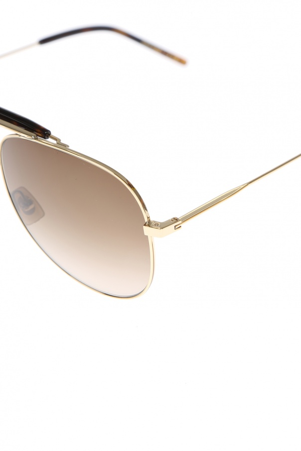 Okulary typu 'aviator' od Saint Laurent Paris