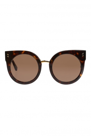 Leopard print sunglasses od Stella McCartney
