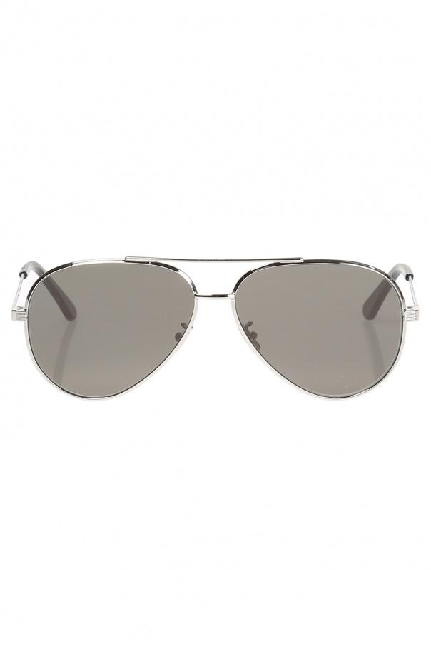 Aviator sunglasses od Saint Laurent