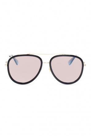 Aviator sunglasses od Gucci