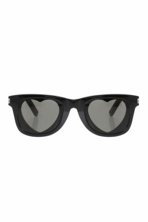 'classic 51 heart' sunglasses od Saint Laurent