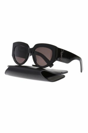 Logo sunglasses od Saint Laurent