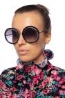 Round sunglasses od Alexander McQueen