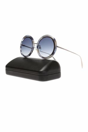 Sunglasses with a logo od Alexander McQueen