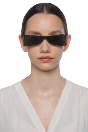 Eye glasses with flip-up detail od Gucci