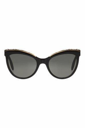 Sunglasses with swarovski crystals od Alexander McQueen