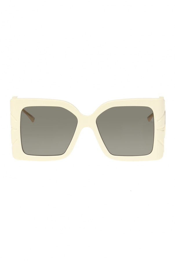 Gucci Sunglasses with leaf temples