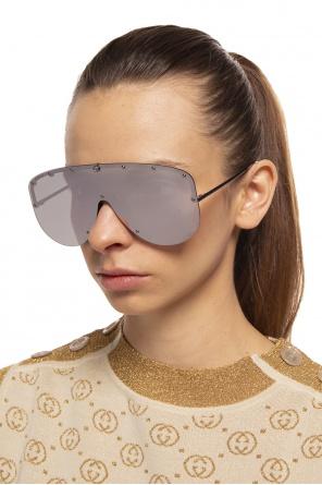 Okulary przeciwsłoneczne 'mask' od Gucci