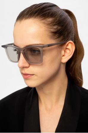 Okulary przeciwsłoneczne z logo od Balenciaga