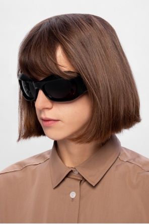Sunglasses with logo od Bottega Veneta
