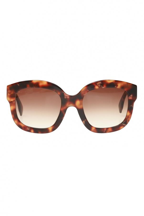 Emmanuelle Khanh Logo sunglasses