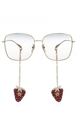 Logo-engraved sunglasses od Gucci