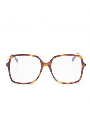 Rectangular sunglasses od Gucci