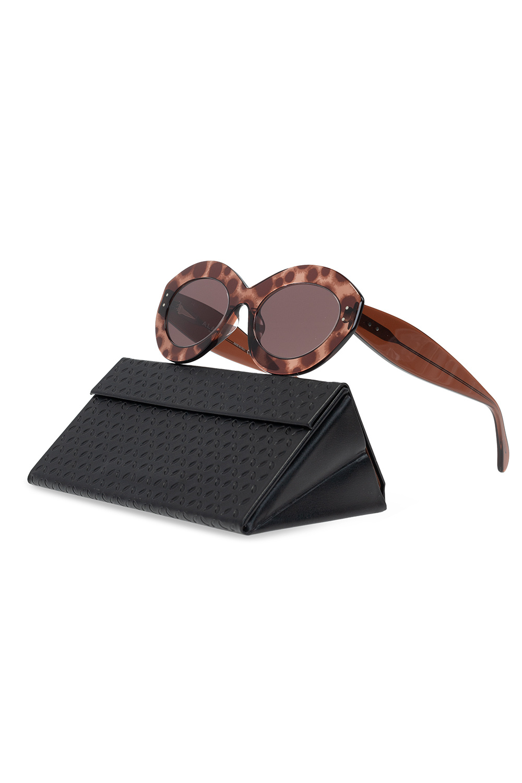 Alaia Transparent sunglasses