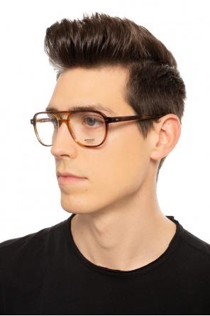 'bjorn' eyeglasses with logo od Moscot