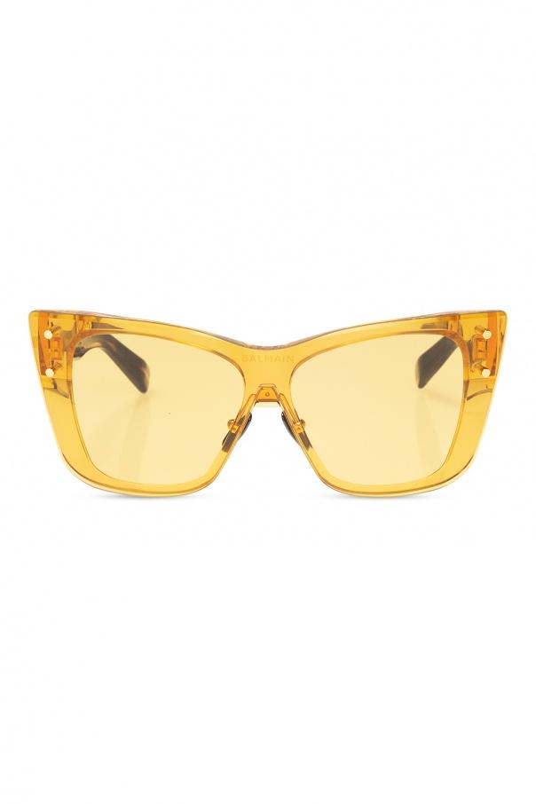 Balmain Logo-printed sunglasses