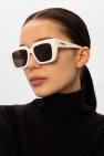 Bottega Veneta Okulary przeciwsłoneczne z logo