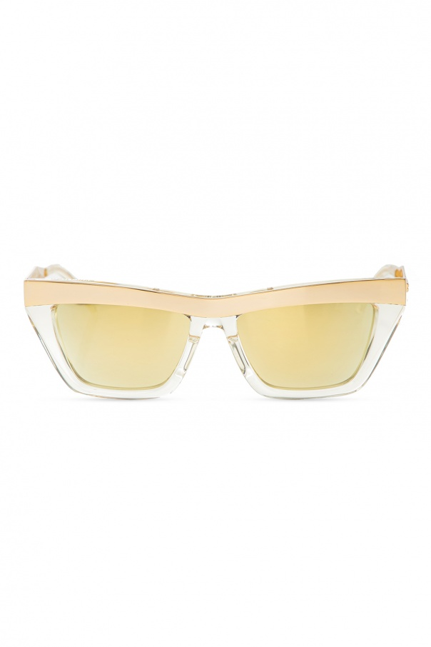 Bottega Veneta Logo sunglasses