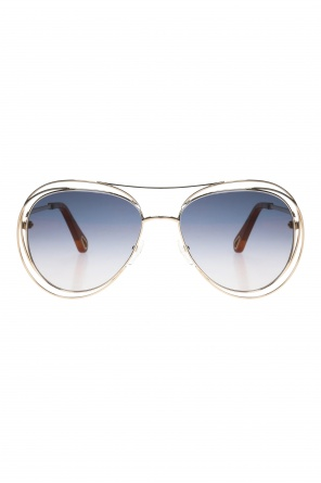 Aviator sunglasses od Chloe