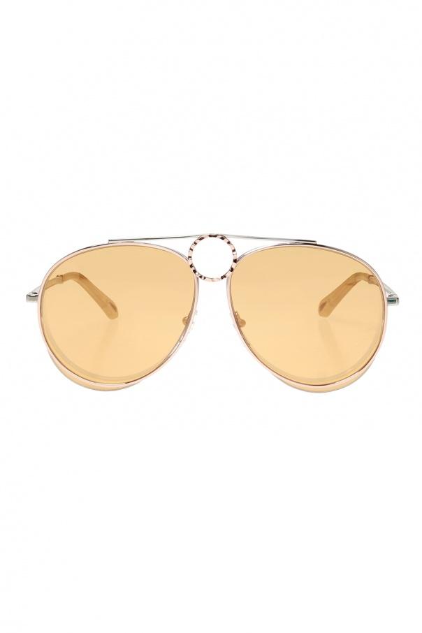 Chloe 'Romie' aviator sunglasses