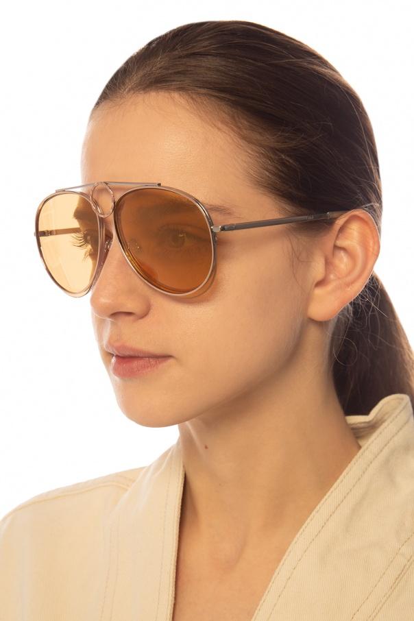 'romie' aviator sunglasses od Chloe