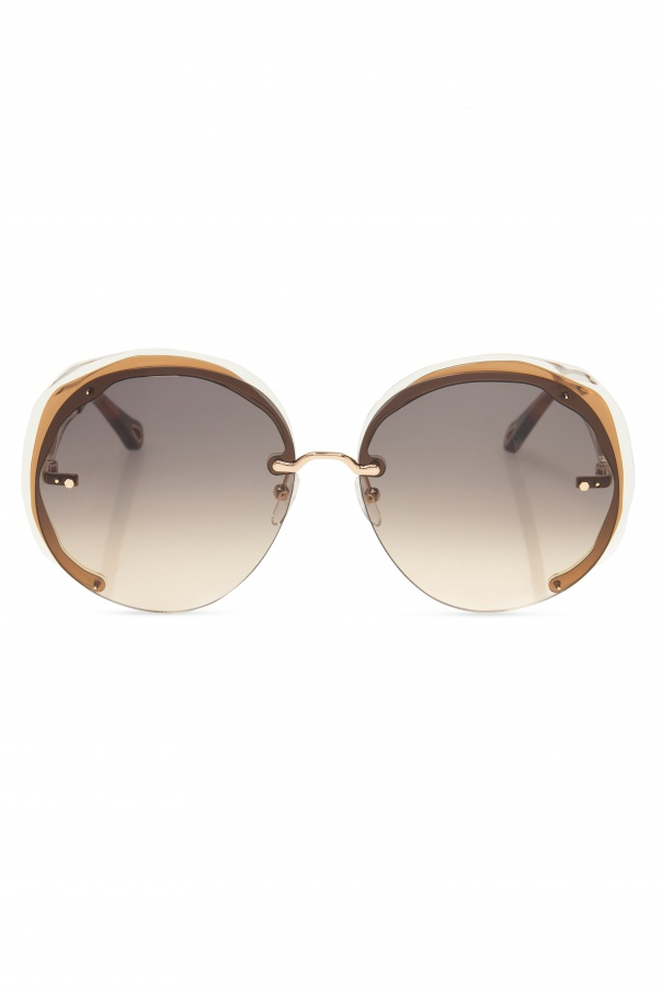 Chloé Sunglasses with logo
