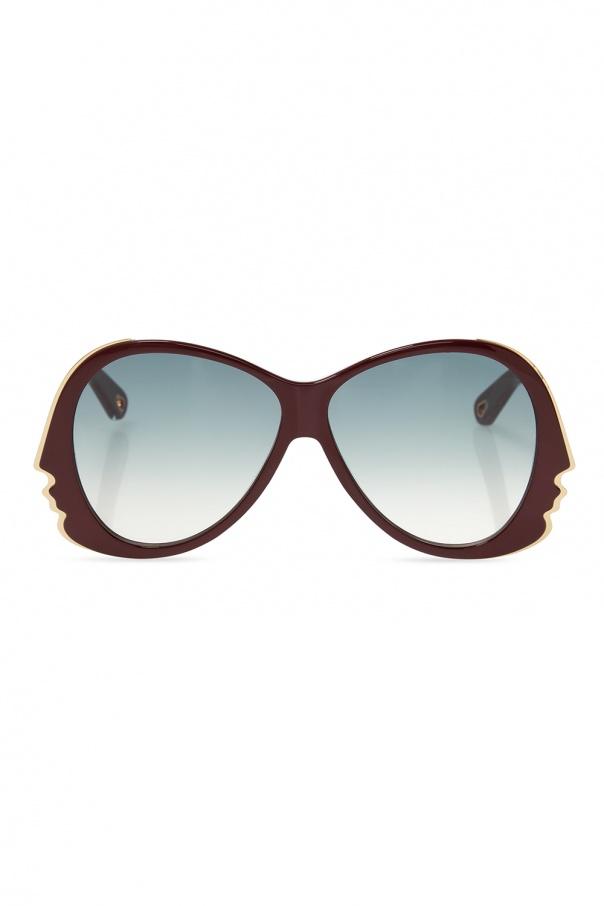 Chloé Sunglasses with logo