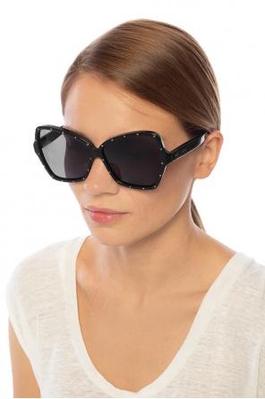 Okulary przeciwsłoneczne z logo od Celine
