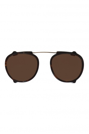 'jared clip' clip-on sunglasses od Moscot