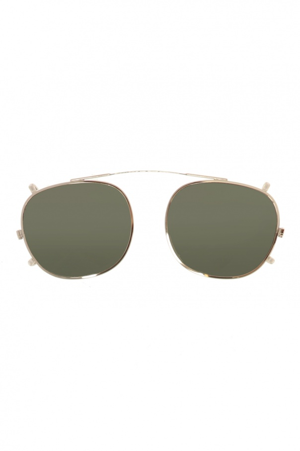 Moscot 'Cliptosh' clip-on sunglasses